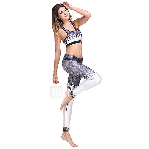 Yoga Clothing Sets/Suits Breathable Stretchy Sports Wear