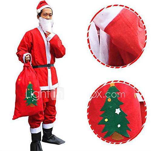chapeu-do-natal-nao-tecidos-terno-vestido-de-santa-do-cinto-barba-casaco-calcas-nao-inclui-as-botas