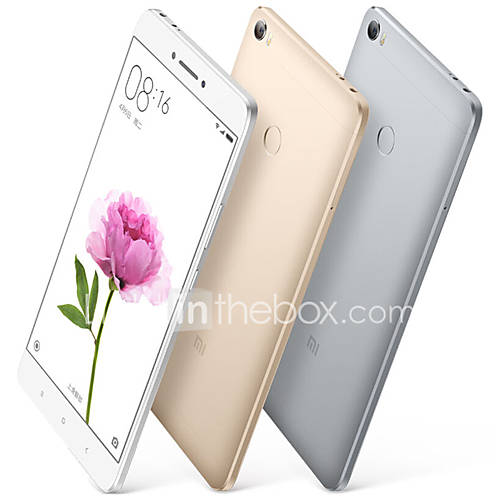 Xiaomi Mi MAX 6.4 '' MIUI Smartphone 4G (SIM Dual Octa Core 16MP 4GB  128 GB Gris) Descuento en Lightinthebox