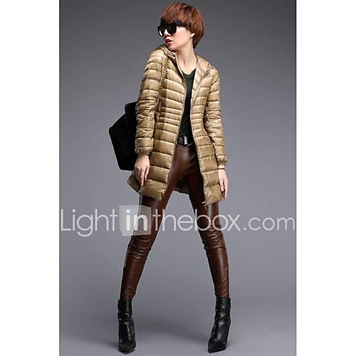 manteau doudoune femme long chic de rue d contract. Black Bedroom Furniture Sets. Home Design Ideas
