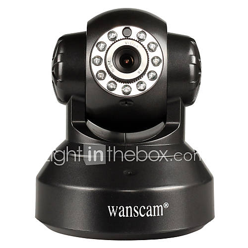 Wanscam® PTZ IP Camera Day Night Wi-Fi Protected Setup ...