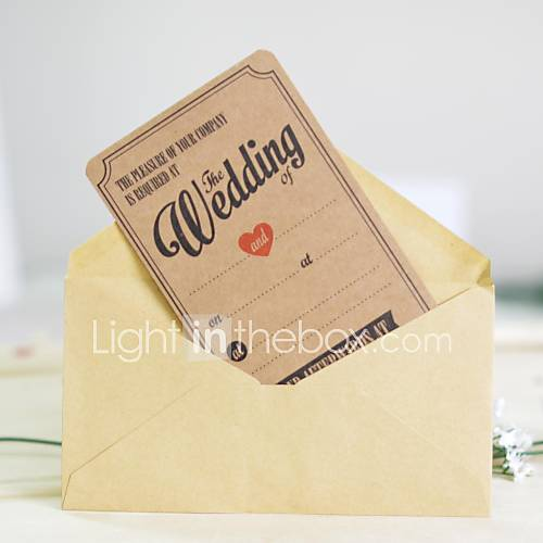 Examples Of Wedding Gift Cards : The wedding gift Non-personalized Flat Card Wedding Invitations ...