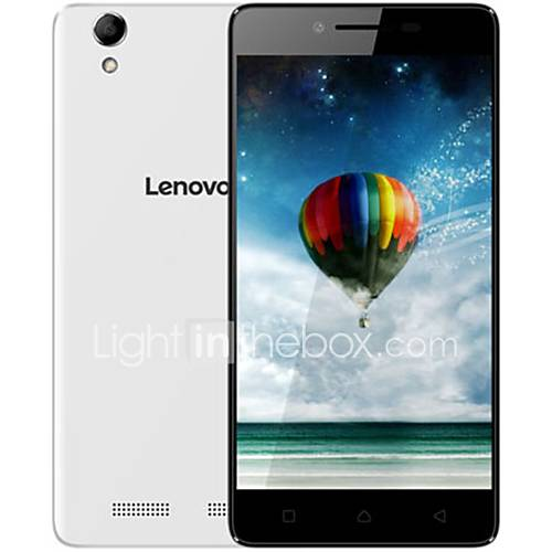 "lenovo K10e70 5.0 "" Android 6.0 Smartphone 4G ( SIM Dual Quad Core 8 MP 1GB  8 GB Negro / Blanco ) Lightinthebox"