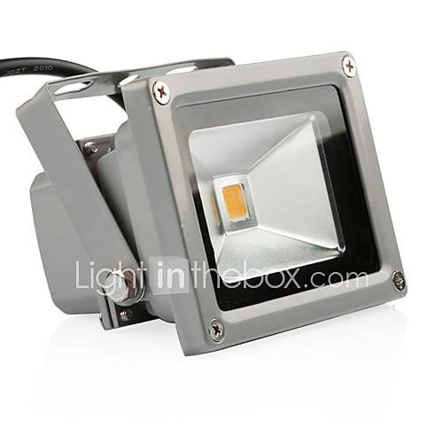 Outdoor LED Flood Light 10W Warm White 3200K Waterproof
