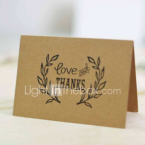 Wedding Gift Thank You Cards Pack : wedding gift Top Fold Wedding Invitations Thank You Cards-25 Piece/Set ...