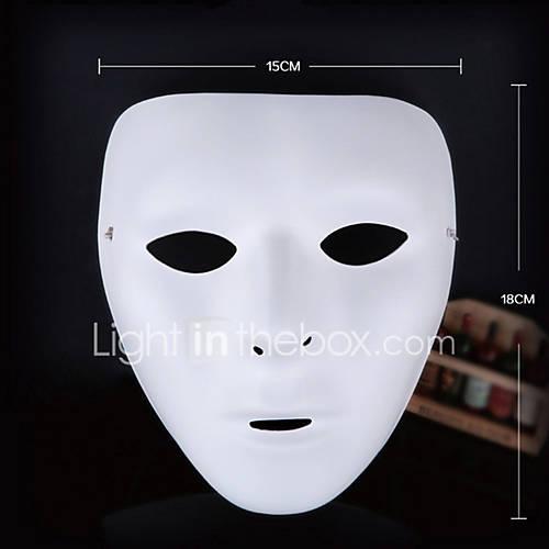 Máscaras de Halloween / Máscaras de Carnaval / Máscara pintada a mano Decoración para Celebraciones Halloween / Mascarada 1Pcs Descuento en Lightinthebox
