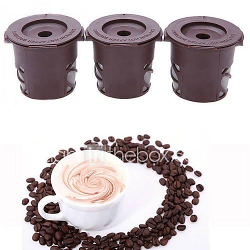 K-Cup filtros de café reutilizables para 3Pack keurig cápsulas de café listo Descuento en Lightinthebox