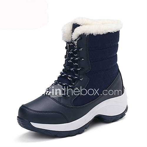 Women's Boots Winter Platform / Snow Boots Fabric Outdoor