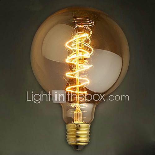 alambre G125 alrededor de 40w bombillas bombilla de tungsteno edison barra perla bombilla de Edison bombilla retro decoración