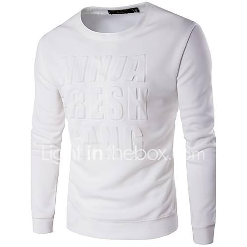 heren-actief-eenvoudig-casual-dagelijks-sweatshirt-letter-ronde-hals-micro-elastisch-polyester-lange-mouw-herfst-winter