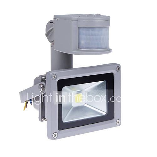 10W Motion Sensor LED Flood Light with PIR 800lm Super