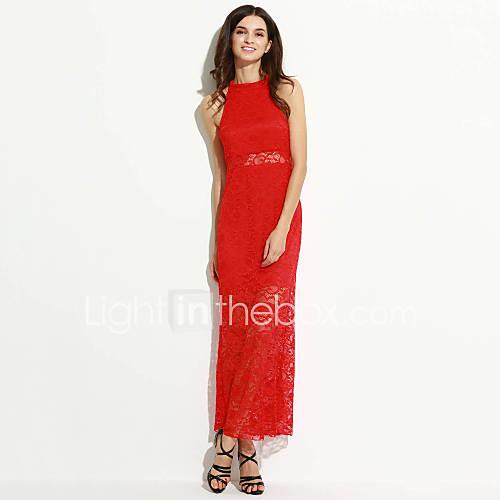 halter-katoen-kant-maxi-vrouwen-jurk-mouwloos