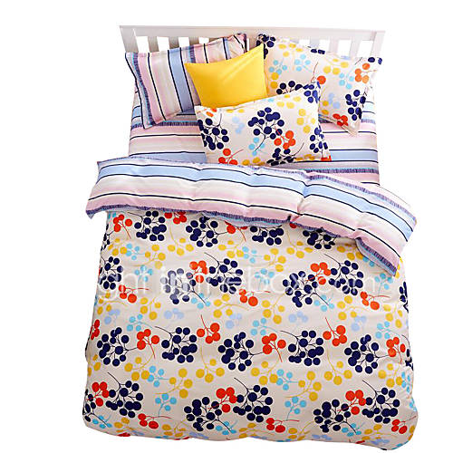 Mingjie wonderful blue and yellow bedding sets 4pcs for - Light blue and yellow bedding ...