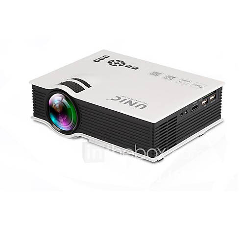 Pannovo 1080p 800 lumens lcd mini home high definition for Highest lumen pocket projector