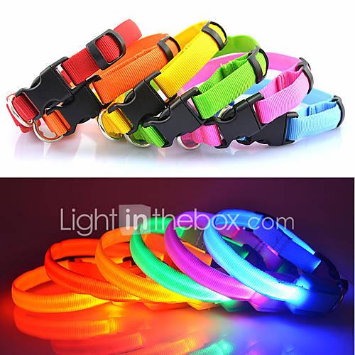 Collar de Seguridad LED para Perro - De 25 a 35cm Descuento en Lightinthebox