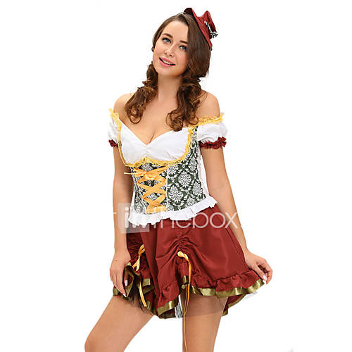 Beer garden babe adult costume