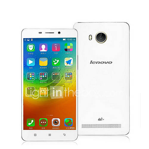 Lenovo a5600 5.5 '' Android 5.1 Smartphone 4G ( SIM Dual Quad Core 8 MP 1GB  8 GB Negro / Blanco ) Descuento en Lightinthebox