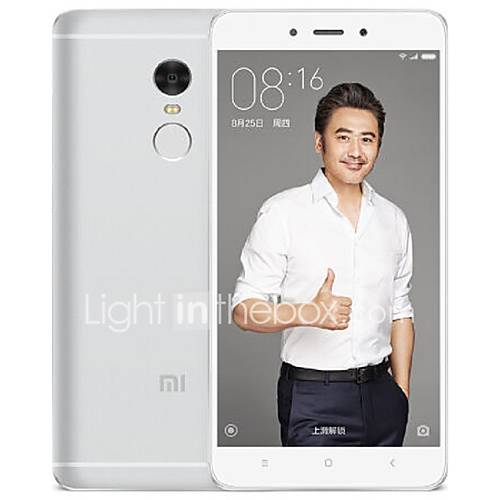 Xiaomi Redmi Note 4 5.5 '' MIUI Smartphone 4G (SIM Dual Deca Core 13 MP 3GB  64 GB Oro / Plata / Gris) Descuento en Lightinthebox