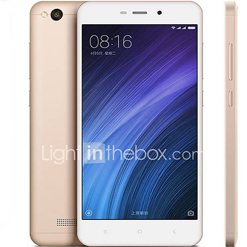 RedMi 4A 5.0 '' MIUI Smartphone 4G (SIM Dual Quad Core 13 MP 2GB  16 GB Oro) Descuento en Lightinthebox
