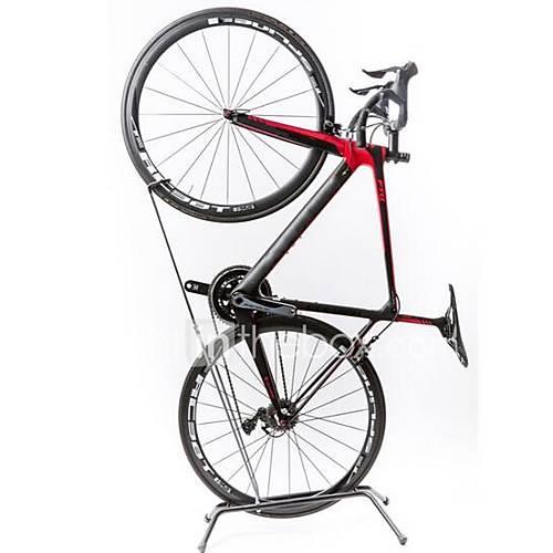 Lightweight Kickstand: Bike Kickstand Mountain Bike MTB Road Bike Black Aluminium