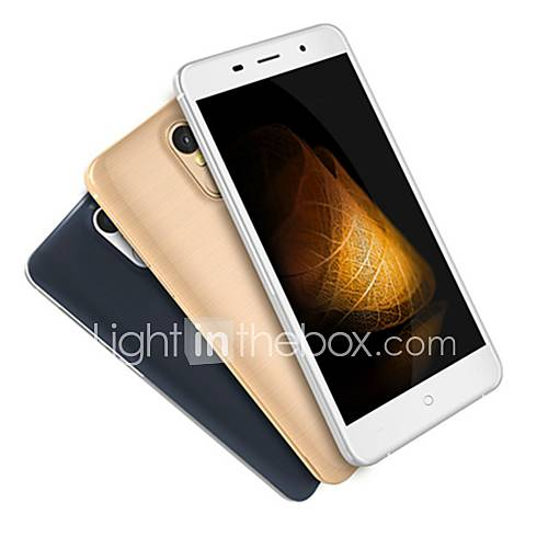 LEAGOO M5 PLUS 5.5 '' Android 6.0 Smartphone 4G ( SIM Dual Quad Core 13 MP 2GB  16 GB Negro / Oro / Blanco ) Descuento en Lightinthebox