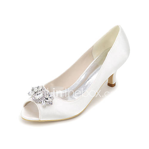 Women 39 S Heels Spring Summer Fall Others Silk Wedding Party Ev