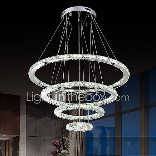 Source lighting crystal led pendant : Led crystal pendant lights ceiling lighting clear