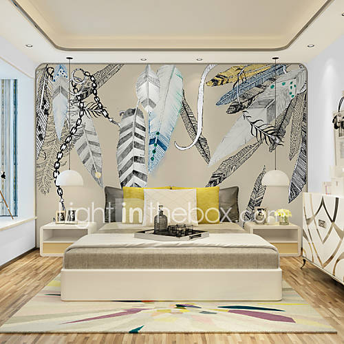Jammory art deco wallpaper for home wall covering canvas for Art deco wallpaper mural
