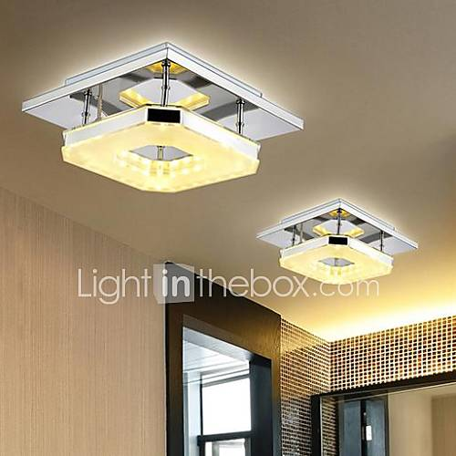 8 flush mount modern contemporary electroplated feature - Bombillas led para casa ...