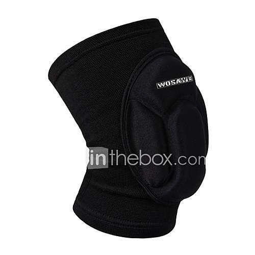 WOSAWE 1 PC Elastic Knee Pads Breathable Football Basketball Snowboarding Skating Cycling Sports Leg Sleeve Kneepad Protector