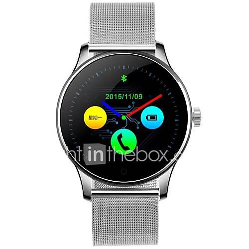 k88h inteligente sueño monitorización del ritmo cardíaco relojes monitoreo del reloj del bluetooth paso a paso en tiempo real