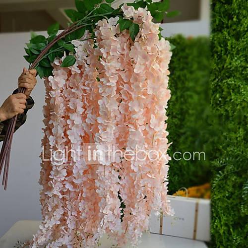 1 Rama Seda Flores Artificiales 150CM