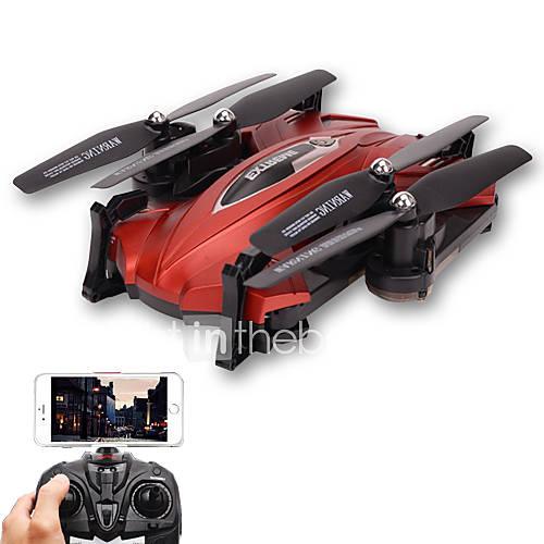 Skytech TK110HW WIFI FPV With 720P HD Camera Foldable 2.4GHz 6 Axis Gyro RC Quadcopter RTF