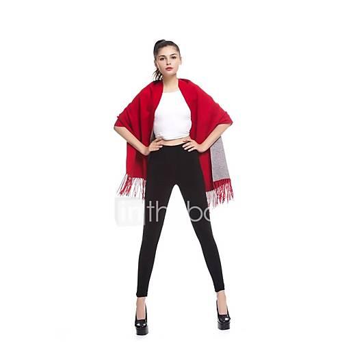 dames-uitgaan-casual-dagelijks-eenvoudig-street-chic-normaal-cloak-capes-effen-halter-mouwloos-wol-lente-medium-micro-elastisch