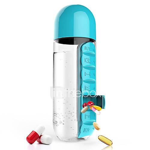 Transparente Novedades Ir Al Aire Libre Artículos para Bebida, 600 ml fabricante de bricolaje Plástico Jugo AguaVajilla de Uso Habitual Lightinthebox
