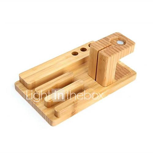 2-em-1-de-bambu-carga-artesanato-titular-do-telefone-movel-para-o-relogio-maca-relogio-suporte-de-suporte-do-telefone