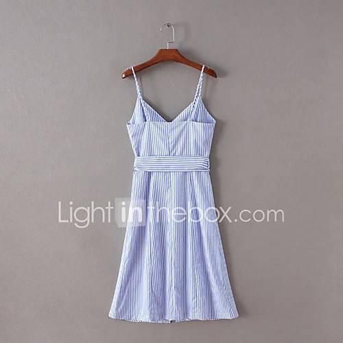 dames-uitgaan-casual-dagelijks-eenvoudig-a-lijn-jurk-effen-boothals-tot-de-knie-mouwloos-rayon-zomer-herfst-medium-taille-micro-elastisch