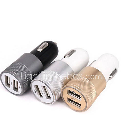 Car Charger QC2.0 2 USB Ports Charger 2.1A Dual USB Car Charger