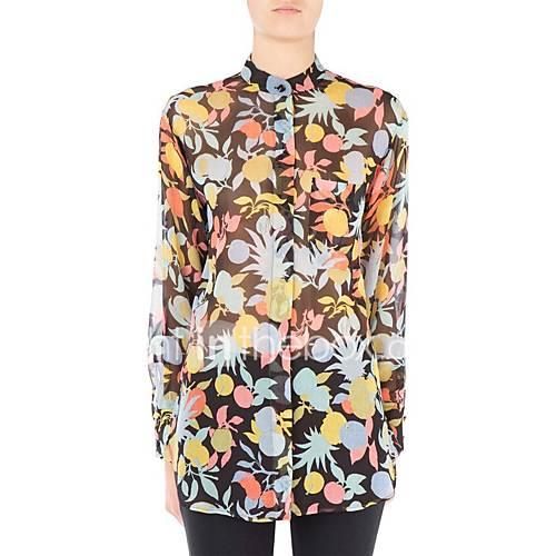 dames-sexy-eenvoudig-street-chic-lente-herfst-overhemd-uitgaan-casual-dagelijks-print-overhemdkraag-lange-mouw-meerkleurig-katoen-medium