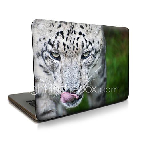 Para macbook air 11 13 / pro13 15 / pro com retina13 15 / macbook12 um tigre irritado descrito apple laptop caso
