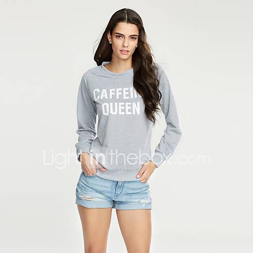 dames-actief-eenvoudig-casual-dagelijks-uitgaan-sweatshirt-letter-ronde-hals-micro-elastisch-katoen-rayon-lange-mouw-herfst-winter