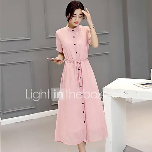 assinar-2017-versao-coreana-do-grande-tamanho-mulheres-longa-secao-esguio-e-elegante-mulheres-vestido-de-chiffon-de-manga-curta-vestir