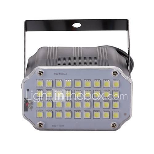 uking-mini-som-controle-36pcs-branco-leds-quarto-estroboscopio-spotlight-palco-iluminacao-para-discoteca-festa-dj-luz-casa-entretenimento