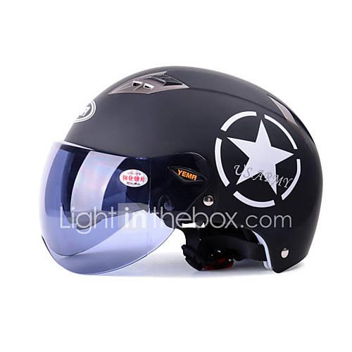 Half Helmet Anti-UV Breathable ABS Motorcycle Helmets