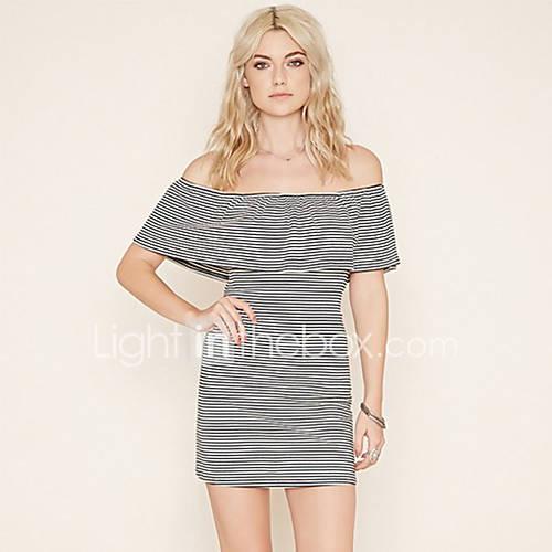 amazon-ebay-aliexpress-explosao-modelos-na-europa-e-america-sexy-strapless-colar-pacote-hip-stripe-dress