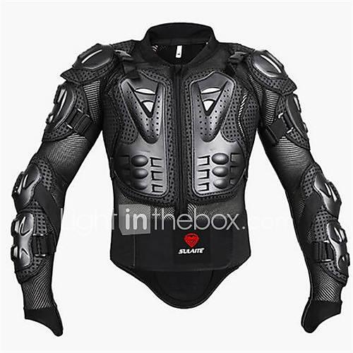 Chaqueta de protección de la motocicleta motocross que compite con la armadura chaqueta protectora engranaje del cuerpo