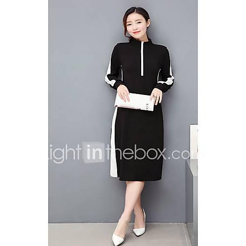 2017-mulheres-novas-da-mola-39-moda-s-solta-vestido-preto-coreano-de-manga-comprida-mulheres-vestido-secao-longa-da-primavera-e