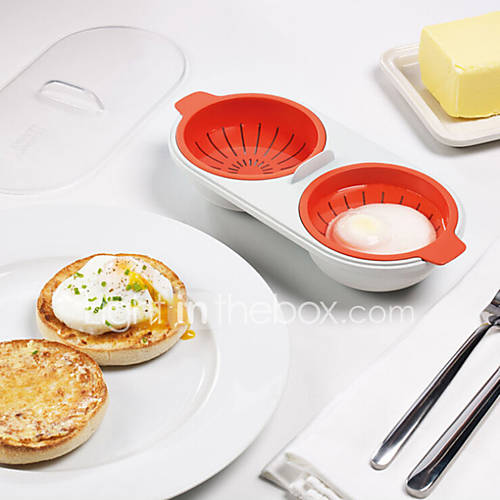 1Pcs     Egg Poacher Cook Poach Pods Egg Tools Microwave Oven Poached Baking Cup Cooking Kitchen Accessories Random  Color