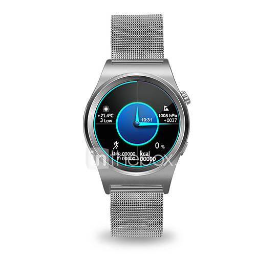 Reloj elegante androide del androide de los smartwatch de los hombres de xy x10 monitor iqi de la frecuencia cardíaca de la ayuda iqi con