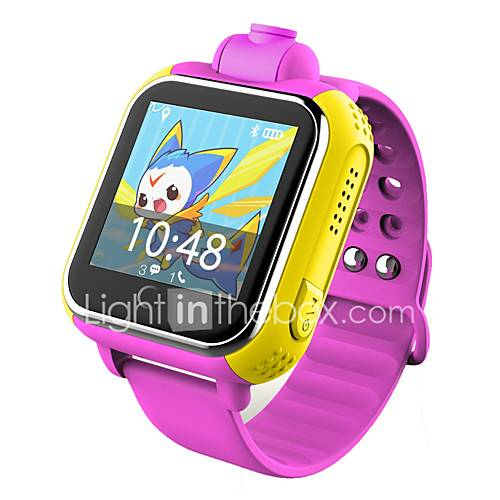 Relojes para niñosResistente al Agua Long Standby Podómetros Itinerario de Ejercicios Deportes Cámara Pantalla táctil Distancia de